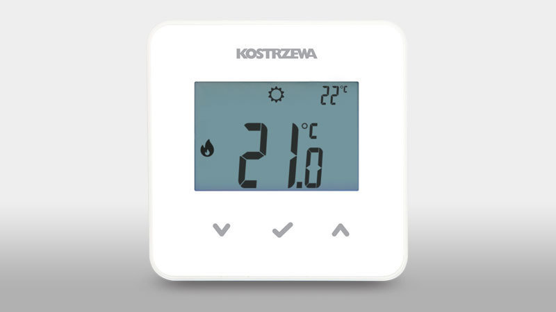 EcoSTER_K10 room thermostat - Simple and easy to use