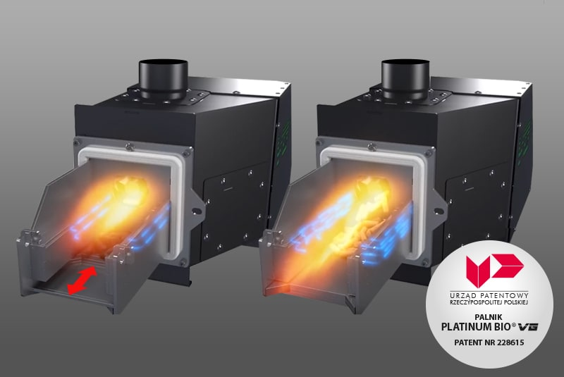 HOW CAN YOU EXPLAIN THE VARIABLE GEOMETRY IN VG BURNER?