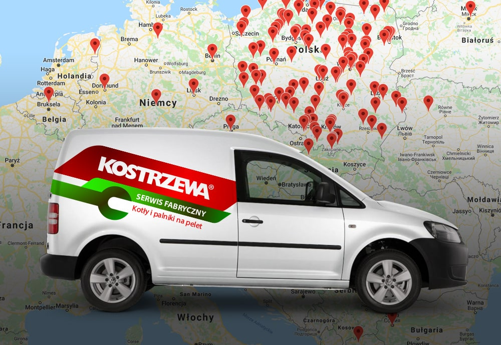 I LIVE IN GERMANY. CAN I ORDER ASSISTANCE FOR A KOSTRZEWA BOILER FROM POLAND?