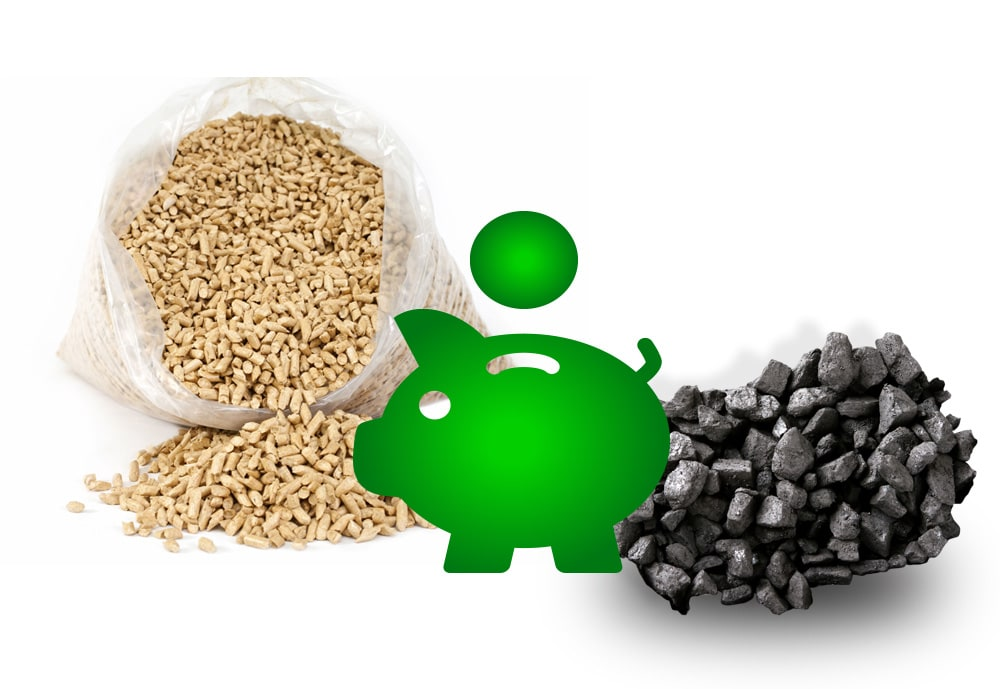 WHICH IS CHEAPER - PELLETS OR ECO-PEA COAL?